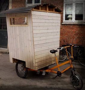 cykel saunaen